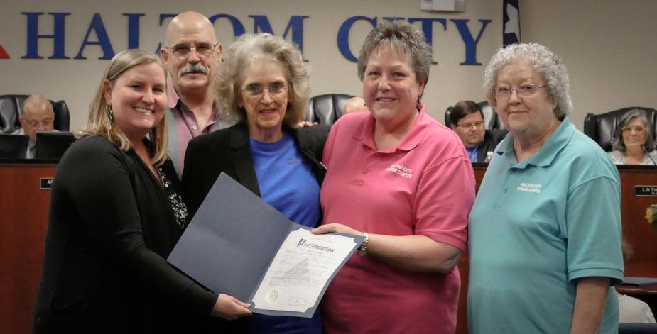haltom city may 13 2019 council proclamation lolder americans month 925x web