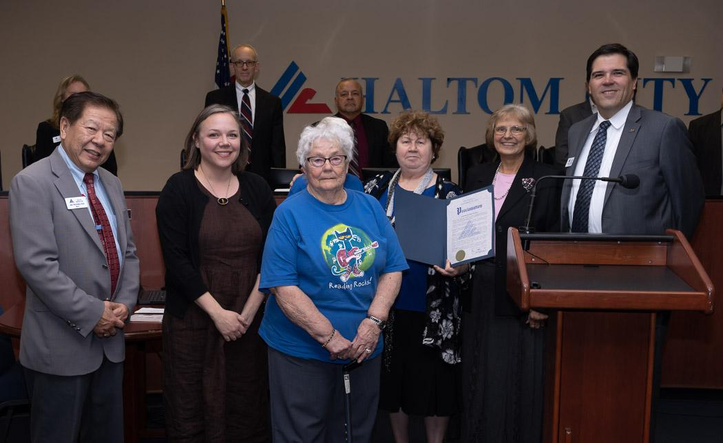 Haltom City Public Library - 2019 Achievement in Excellence Award Recognition