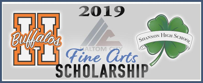 haltom city 2019 fine arts scholarship