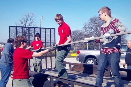 eagle scouts haltom city benches