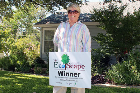 Haltom City Resident & Ecoscape Winner Betty Porter