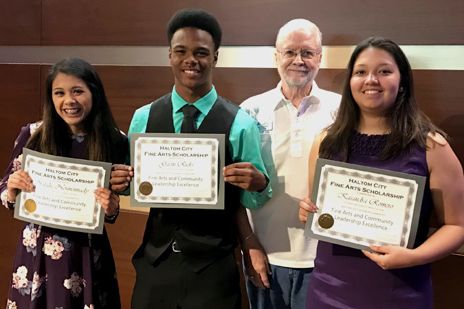 haltom city 2017 fine arts scholarship winners
