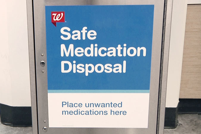 haltom city walgreens medication drop off