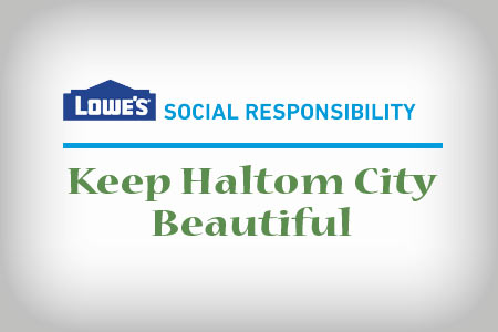 keep haltom city beautiful lowes