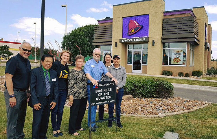 haltom city beautification business 2q 2017 taco bell