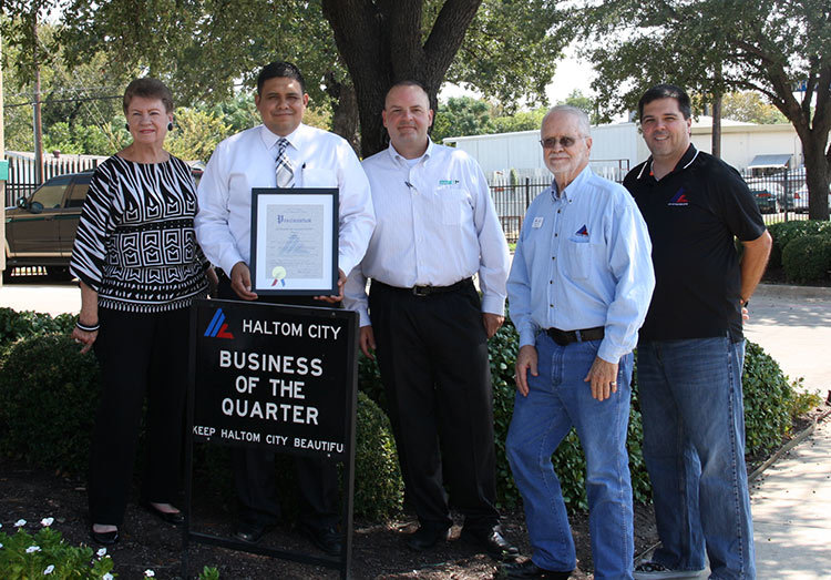 haltom city beautification business 4q 2017 unifirst