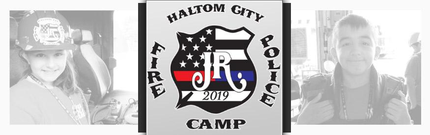 2019 haltom city fire police jr fire camp