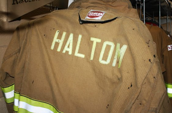 haltom city fire department coat