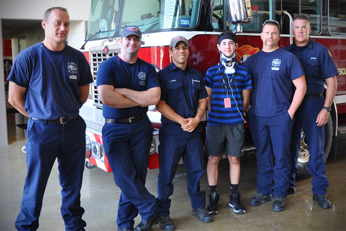 haltom city fire rescue seth brenes