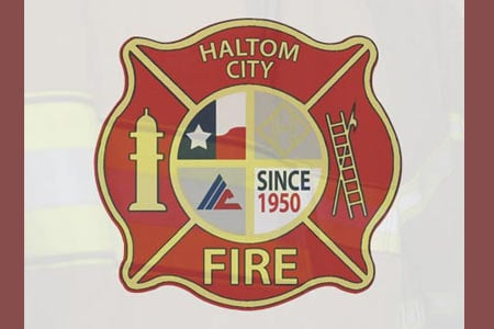 haltom city firerescue logo