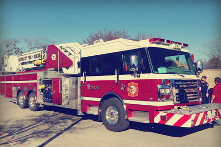 Haltom City Fire/Rescue new ladder truck