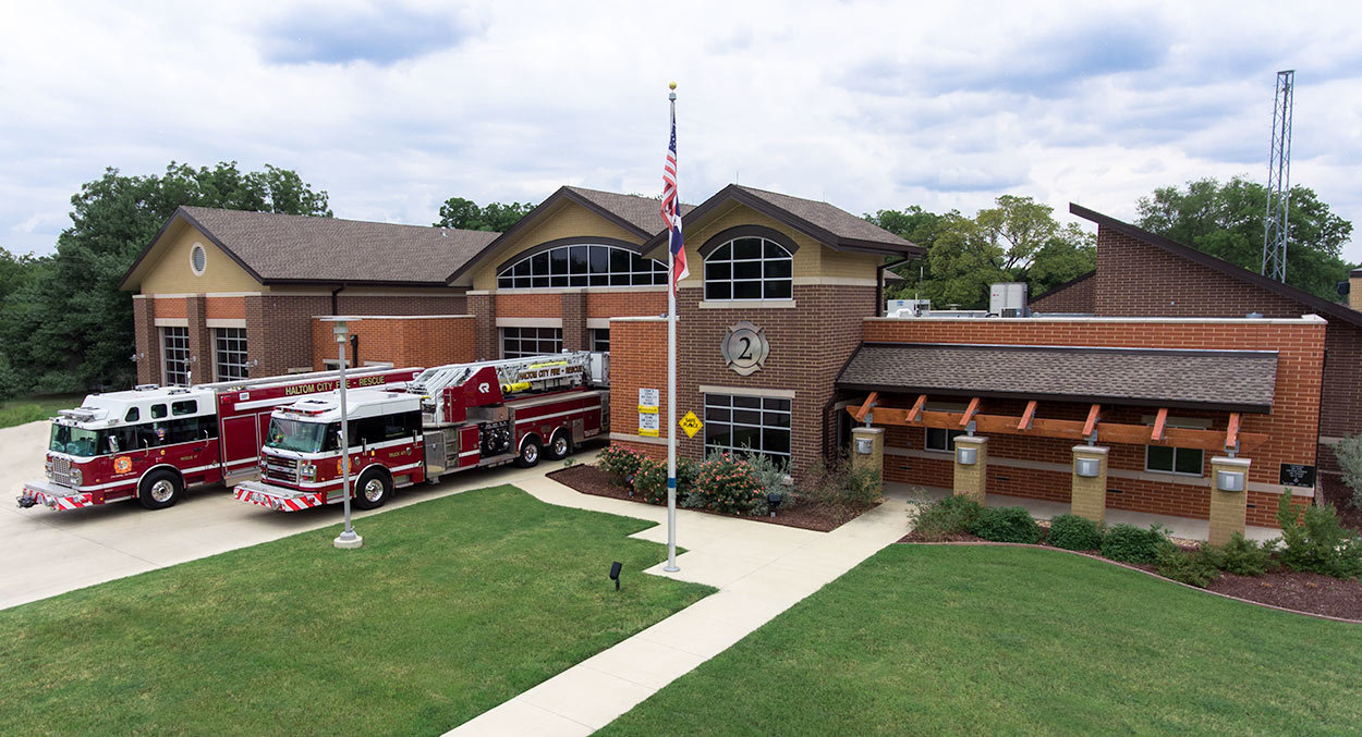 Haltom City Texas Fire Station 2
