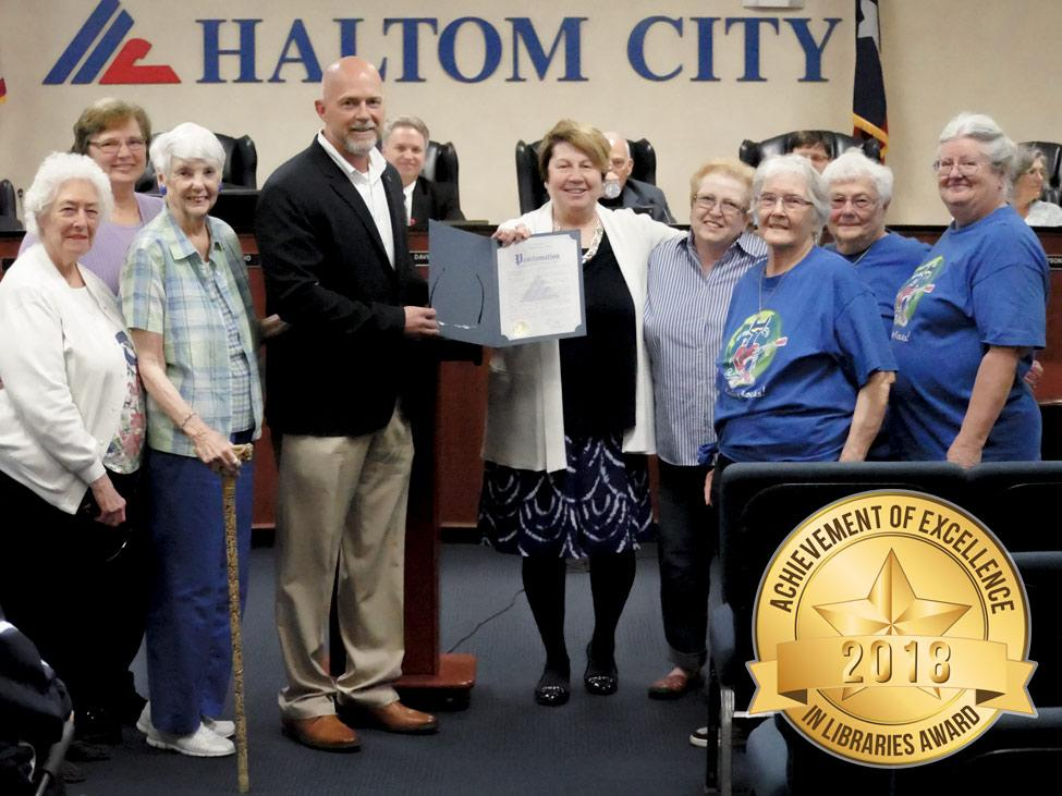 haltom city library achievements in excellence city council tmlda city council apr 8 2019 975x