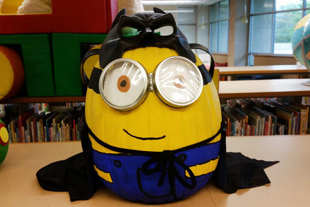 haltom city library 2019 pumpkin decorating contest