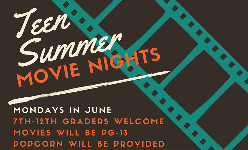 haltom city library teen summer movie night