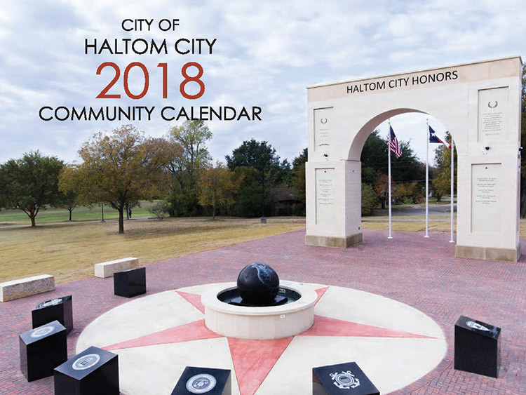 haltom city texas 2018 community calendar
