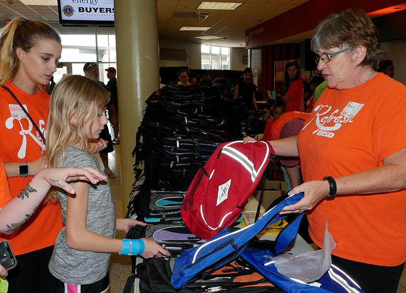 haltom city back to school health fair
