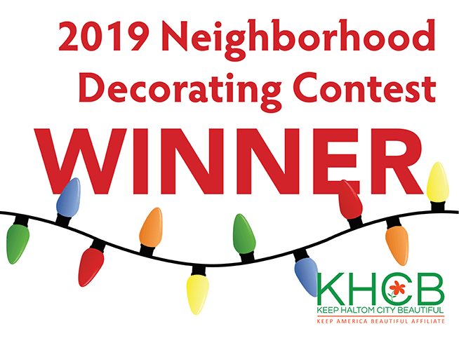 2018 haltom city neighborhood decorating contest judges choice district 3