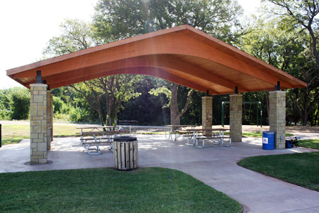 haltom city whites branch park pavilion2