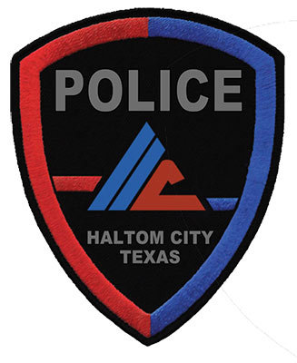 haltom city police department logo