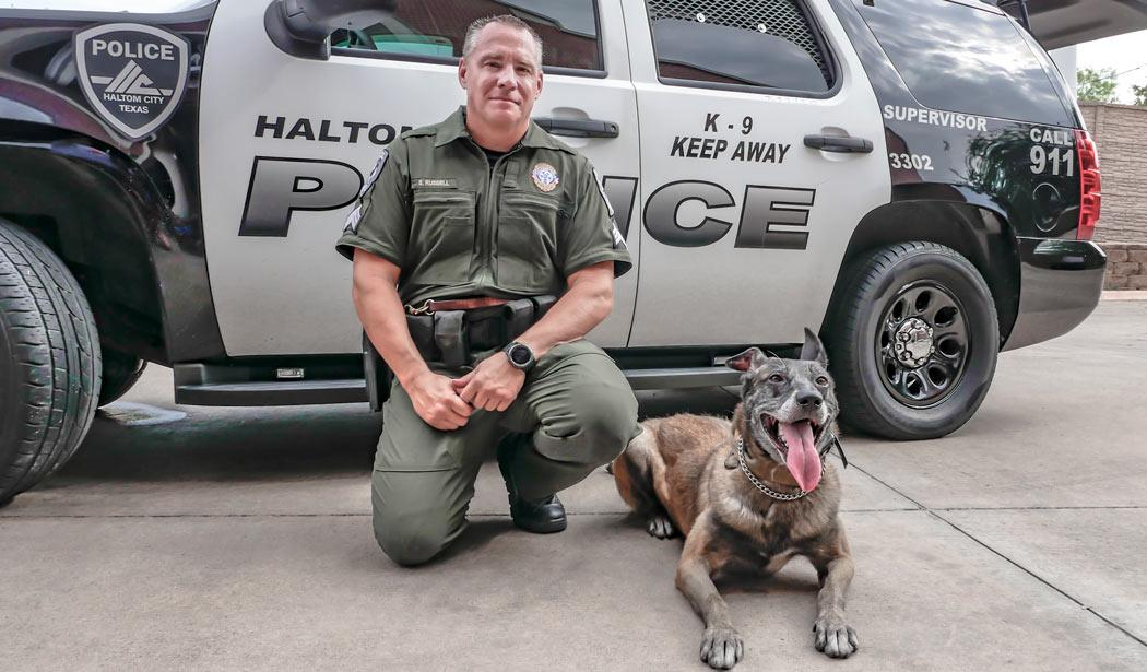 haltom city texas police k9 team scott russell filo