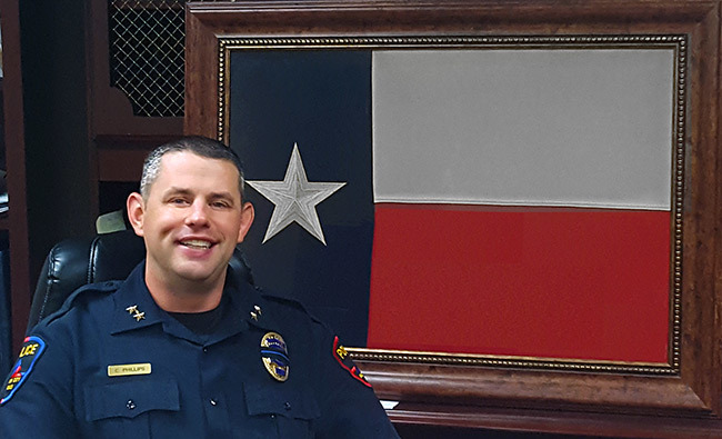 haltom city police chief cody phillips