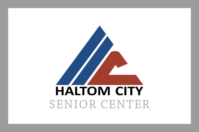 haltom senior center logo
