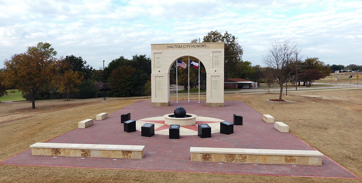 haltom city veterans memorial haltom road park nov 2017